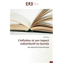L'inflation et son impact redistributif en Guinée: Une approche économétrique