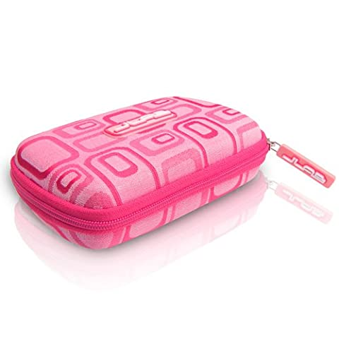 JLAB JPTC88 Samba Travel Case for JBuds J2 Earbuds - Pink (One Direction Ipod 4 Case 2014)