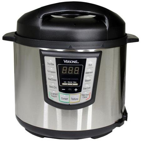 Versonel 6-Quart Programmable 6-in-1 Electric Pressure Cooker