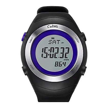 Lovelysunshiny Fast Running Sports Reloj Inteligente Ritmo cardíaco a Prueba de Agua Pasos calorías