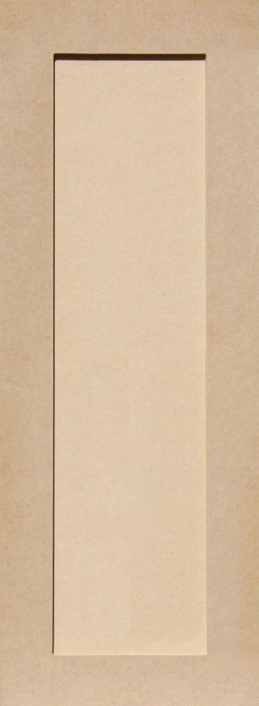 30H x 11W Unfinished Shaker Cabinet Doors in MDF by Kendor
