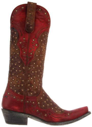 Old Gringo Women's Tabetha Western Boot Brass/Red clearance low cost cheap sale new styles eR5gJ