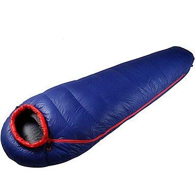 zyt Saco de dormir momia saco de dormir Cama individual (150 x 200 cm) de 5 Patos Calidad Plumón 220 x 72: Amazon.es: Deportes y aire libre