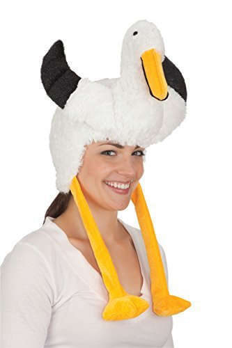 [Jacobson Hat Company Women's Pelican Hat, White, Adult] (Bird Costumes Women)