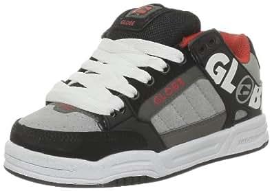 Globe Tilt Kids Tilt Kids_Noir (Black Silver Fiery Red) - Zapatillas de deporte para niño, color negro, talla 33