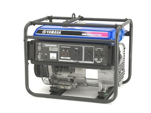 Yamaha YG4000D, 3500 Running Watts/4000 Starting Watts, Gas Powered Portable Generator, CARB Compliant