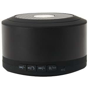 Emartbuy MA126121 - Altavoz portátil Bluetooth compatible con iPhone, Smartphone, color negro