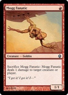 Magic: the Gathering - Mogg Fanatic - Premium Deck Series Fire & Lightning - Foil from Magic: The Gathering