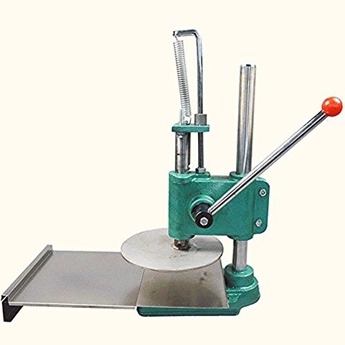 Finlon Household Pizza Dough Pastry Manual Press Machine Dough Presses (35.2LB) Stainless Steel BIg Dough Roller Dough Sheeter Pasta Maker Kitchen Tools by Finlon