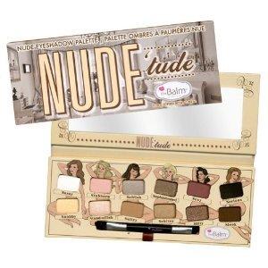 theBalm Nude'Tude Nude palette de fard à paupières