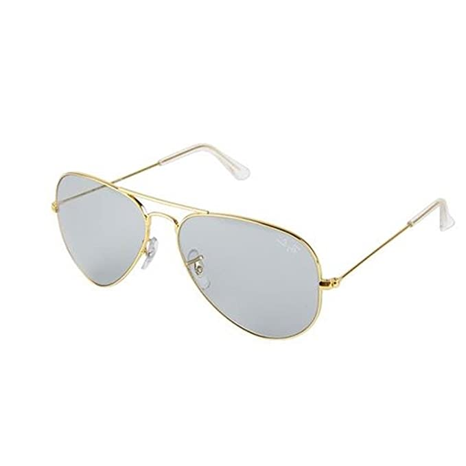 32809659e709c2 Ray-Ban Aviator Men Sunglasses (0RB3025IL174458, Multicolor)  Amazon.in   Clothing   Accessories