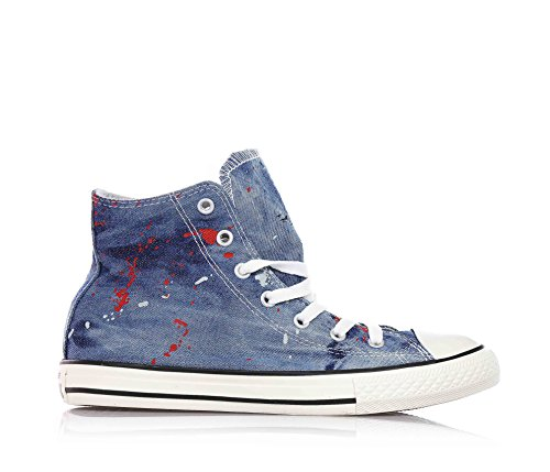 Taylor All Star Zapatillas Niños Chuck Unisex Converse Denim Tq5g1vwEx