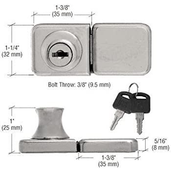 Double Door Lock Cabinet And Furniture Locks Amazon Com