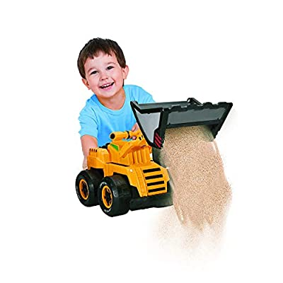 Kid Glaxy Front End Loader Truck w/ Squeeze Handle: Toys & Games