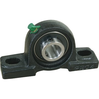 NorTrac Pillow Block - 2-Bolt Oval Mount, 1 1/8in.