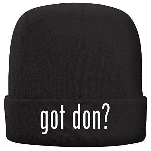 BH Cool Designs got Don? - Adult Comfortable Fleece Lined Beanie, Black
