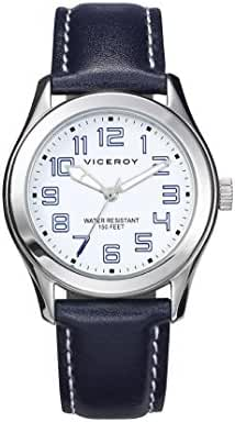 Child Watch Viceroy 432301-04 Leather Black Quartz