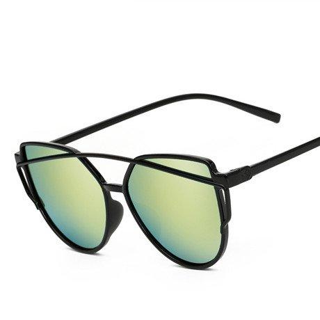 lujo Oro GGSSYY de sol Gafas de sol Glases Gafas Gafas Puntos Femme de Gold Espejo Hombres Mujer Conducción marca sol de de Tonos OOvqr1