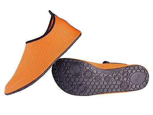 VartikikZ Familie Lüften Aqua Socken Schuhe (Kleinkind / Erwachsener) Orange