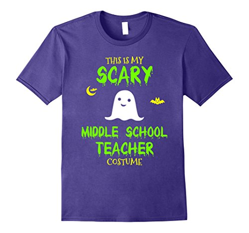 Mens Scary Middle School Teacher Costume Halloween T-Shirt Large (Middle School Teacher Halloween Costumes)