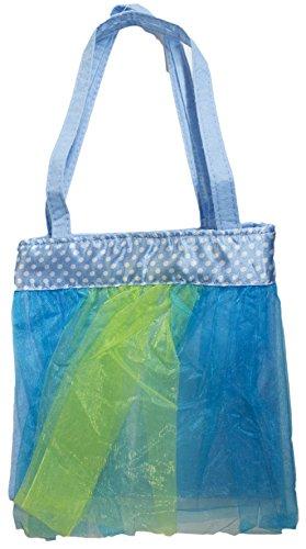 [Girls Little Miss Tutu Cute Little Carry Bag Mini Purse (Blue)] (Little Miss Princess Costume)