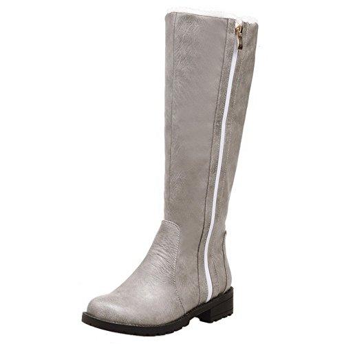 129b7e2167f KemeKiss Women Boots Zipper Warm Lined B076X6LZHS B076X6LZHS B076X6LZHS  Shoes b382f6