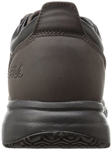 Fila Work Walking Black Restant Shoe Pinecone Slip Memory Men's Blake wtTnrxt