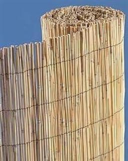 Natural Bamboo Reed Fence 6u0027 High x 25u0027 Wide