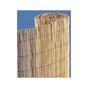Natural Bamboo Reed Fence 6' High x 25' Wide