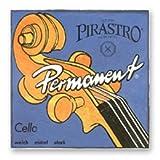Pirastro Permanent Cello String Set, 4/4 Size - Stark