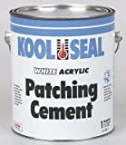 Kool Seal 61-220-1 Acrylic Patching Cement, 1 gallon Can, White
