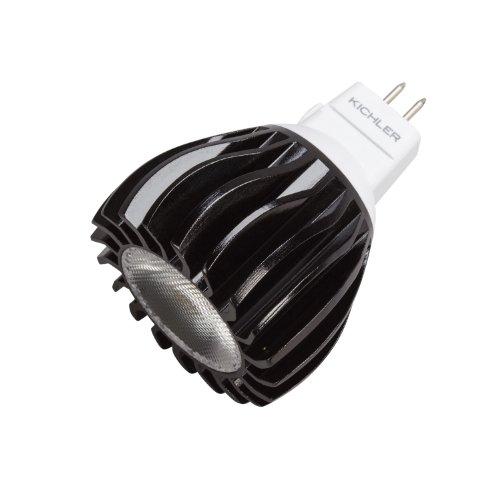 Kichler  18020 High Power 6W 12V LED 4200K 60-Degree MR16 Bi-Pin Landscape Bulb, Cool White, 4-Pack
