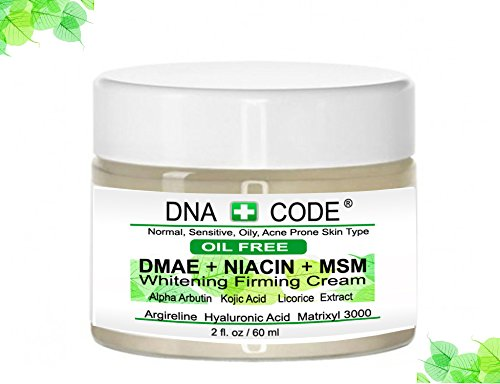 All In One Perfecting Lotion (MAGIC OIL FREE-DMAE+NIACIN+MSM Whitening Firming Cream, Kojic Acid, Alpha Arbutin, Licorise, 100% Pure Hyaluronic Acid, Argireline, Matrixyl 3000)