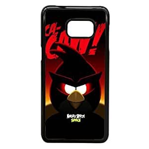 Samsung Galaxy Note 5 Edge Phone Case Black angry VJN347416