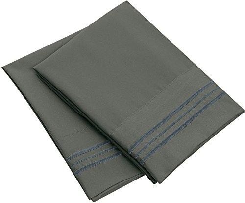 Bluedotsky Bedding Microfiber Pillowcase - Set of 2 - King,