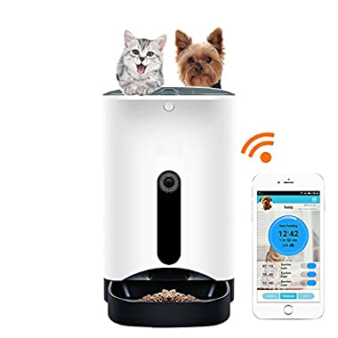 GemPet SmartFeeder, Automatic Pet Feeder controlled  With Your Iphone,Andriod or other smart devices.