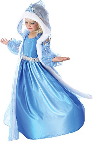 Girls Halloween Costume- Icelyn Winter Princess Kids Costume Medium 7-8