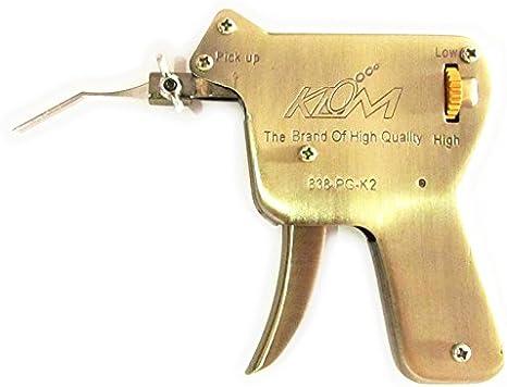 TPM Go Pistolet de crochetage de serrure avec maximum de 5PC Pointes, serrurier Outil de crochetage de serrure (UP)