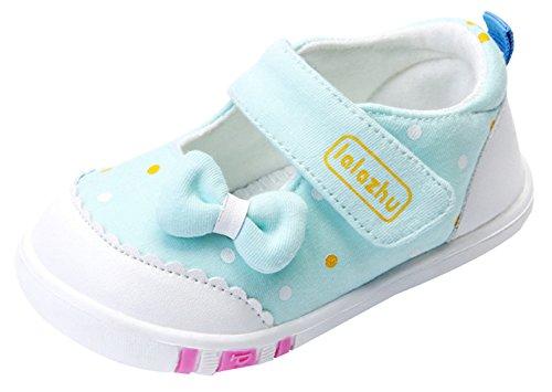 La Vogue Zapatos Bebé Primeros Pasos Antideslizante Primeros Pasos Primavera Azul