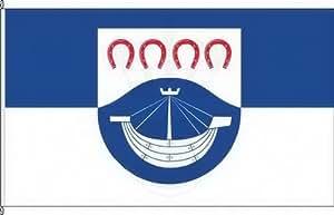 Banner Bandera hohwacht (Mar Báltico)–120x 300cm–Bandera y banner