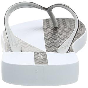 Ipanema Two Tone Mens Flip Flops / Sandals-White-13