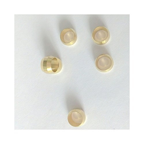 Earth Star 4mm Compression Fitting Olive Parts for Oil Connection Pipe Pack of 10 PCS by Earth Star