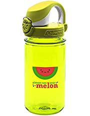 Nalgene Kids On The Fly Water Bottle, Leak Proof, Durable, BPA and BPS Free, Carabiner Friendly, Reusable and Sustainable, 12 Ounces