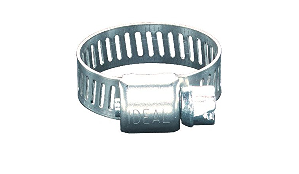 Ideal 62P Series 201//301 Stainless Steel Small Diameter Clamp 5//16 Width 1-3//4-2-3//4 Diameter Box of 10