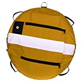 SM SunniMix Heavy Duty Scuba Diving Freediving Diver Snorkeling Spearfishing Surface Marker Buoy/Safety Buoyancy Signal Float Gear Equipment - Yellow