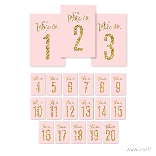 number stickers pink - 5