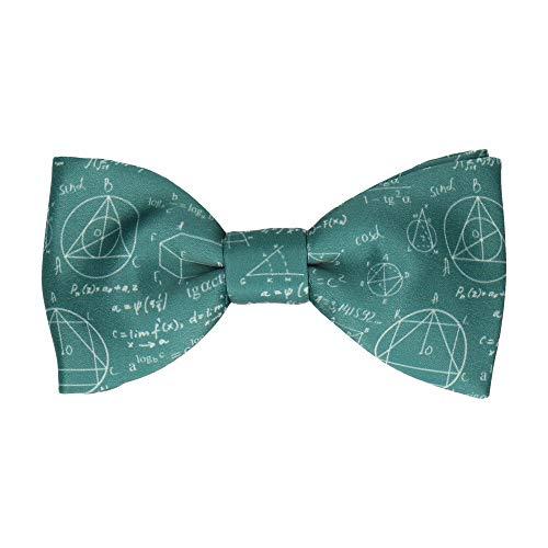 - Mrs Bow Tie Quirky Einstein Bow Tie, Self Tie - Green