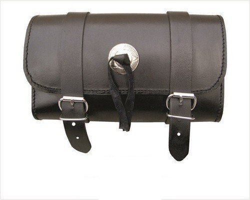 AL3500 Allstate Leather - Genuine Leather Motorcycle Tool Bag - Classic Style