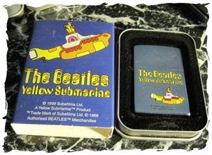 Price comparison product image The Beatles Yellow Submarine Zippo Lighter