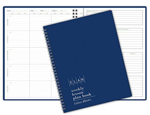 Teacher Plan (8 Period WIDE Teacher Lesson Plan; Days Vertically Down the Side (8WPL))